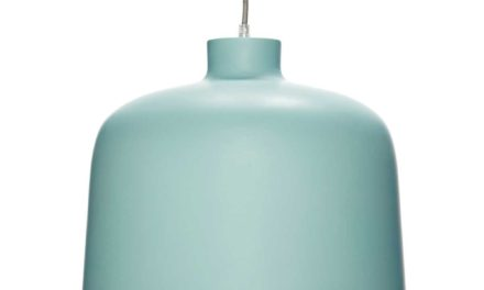 HÜBSCH Grøn aluminium Lampe