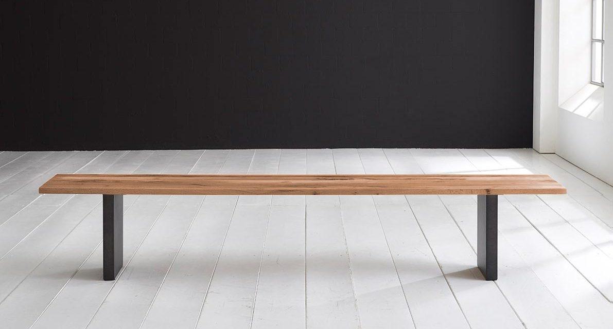 Concept 4 You Spisebordsbænk – T-Ben 240 x 40 cm 3 cm 01 = olie