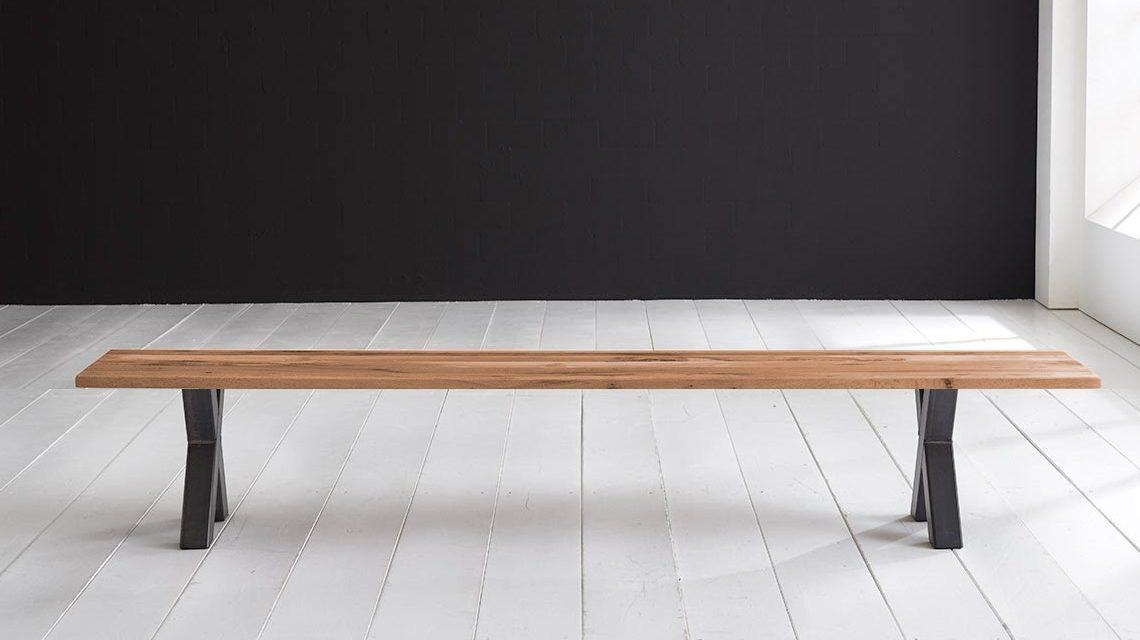 Concept 4 You Spisebordsbænk – Freja ben 240 x 40 cm 3 cm 01 = olie