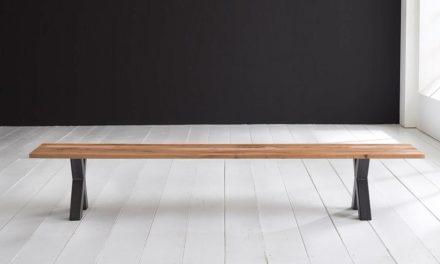 Concept 4 You Spisebordsbænk – Freja ben 260 x 40 cm 3 cm 01 = olie