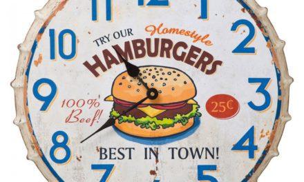 KARE DESIGN Hamburger ur