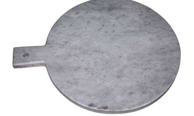 Marmor skærebræt grå.
