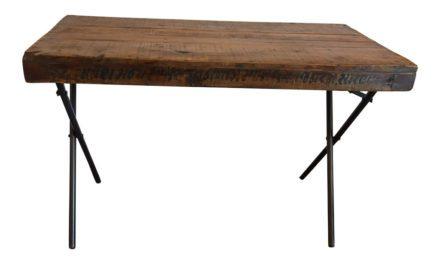 SJÄLSÖ NORDIC Original Træbord med jernben
