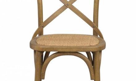 Gaston spisebordsstol – natur vintage