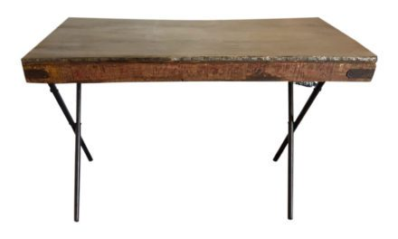 SJÄLSÖ NORDIC Original Træbord med jernplade