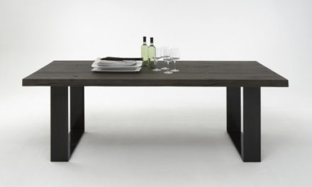 BODAHL Houston plankebord – mocca black el. smoked eg 220 x 110 cm 02 = smoked