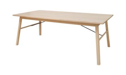 CARVER spisebord – træ, m. udtræk