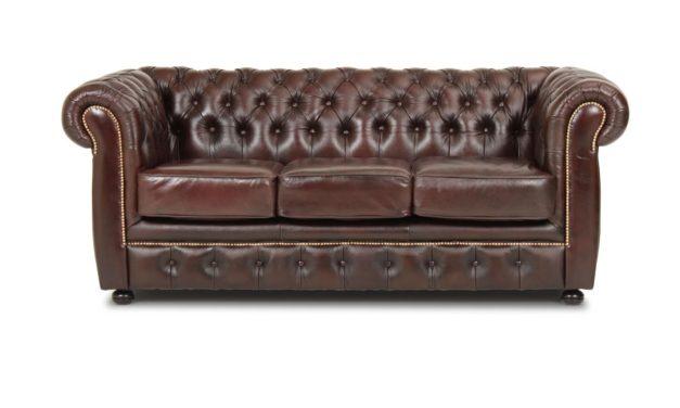 Liverpool 3 personer sofa – brun
