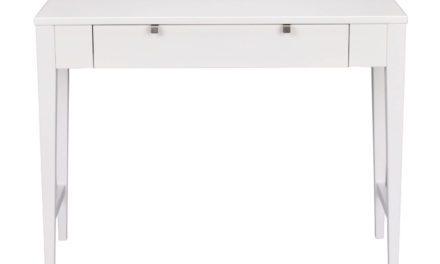 Confetti konsolbord – hvidt birk, m. skuffe