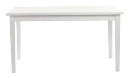 Koster spisebord – hvid m. udtræk (140×100)
