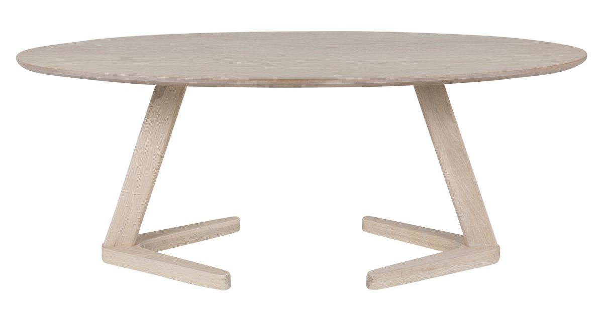CANETT Ollie sofabord – Oval Eg