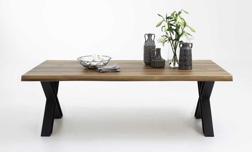 BODAHL Nature plankebord med X-ben – Olieret eg 200 x 100 cm