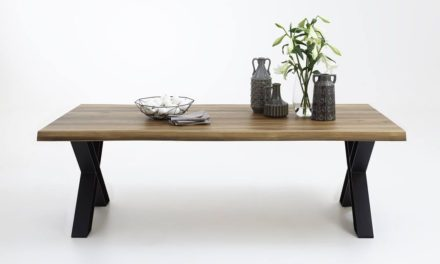 BODAHL Nature plankebord med X-ben – Olieret eg 220 x 100 cm