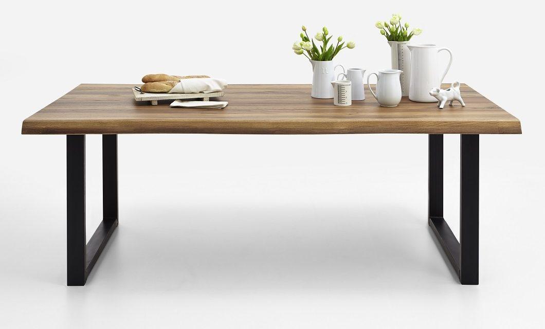 BODAHL Nature plankebord med U-ben – Olieret eg 180 x 100 cm 01 = olie