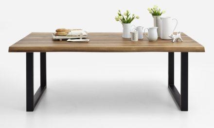 BODAHL Nature plankebord med U-ben – Olieret eg 200 x 100 cm 01 = olie
