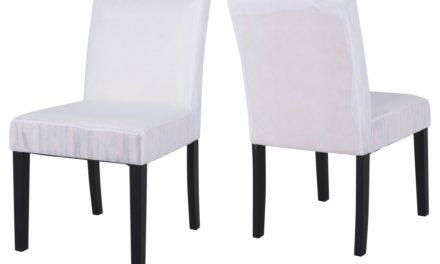 CANETT Dania spisebordsstol – Hvid