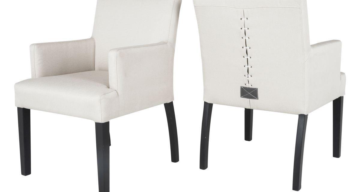 CANETT Matti spisebordsstol m. armlæn – Beige