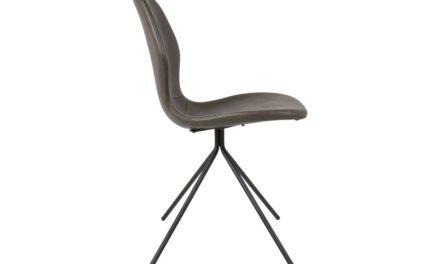 CANETT Tristian spisebordsstol – Gråbrun