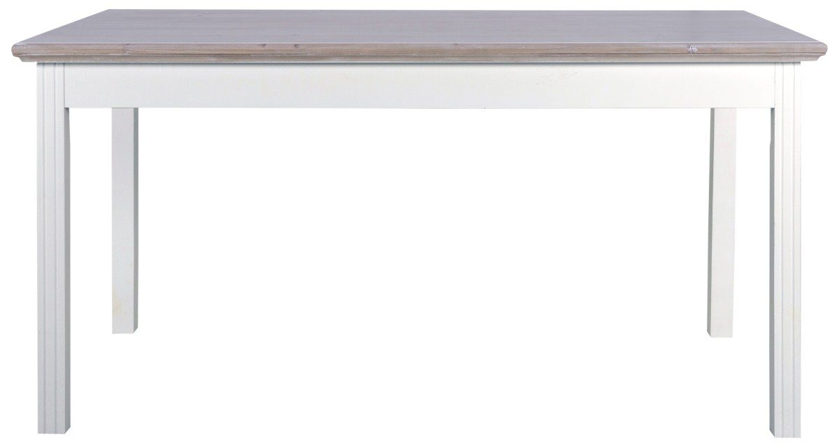 CANETT Florenzio spisebord – Hvidvasket