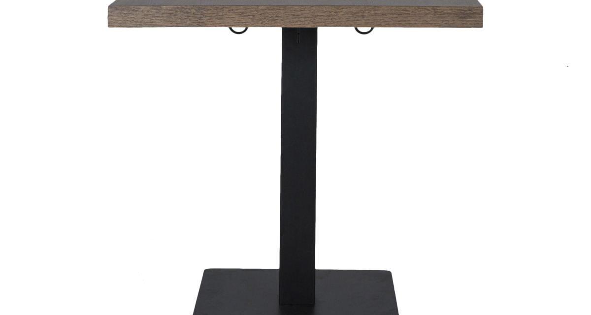 CANETT Morton cafébord – Lysebrun