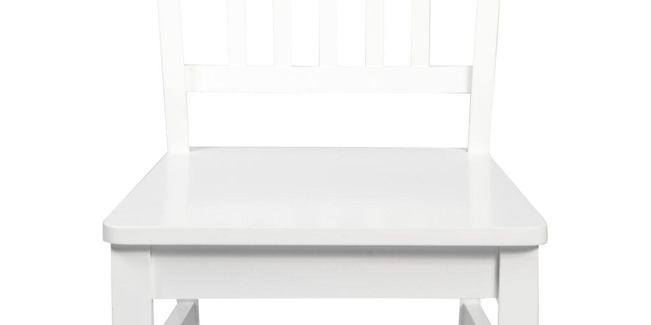 Wittskarr spisebordsstol – Hvidt træ