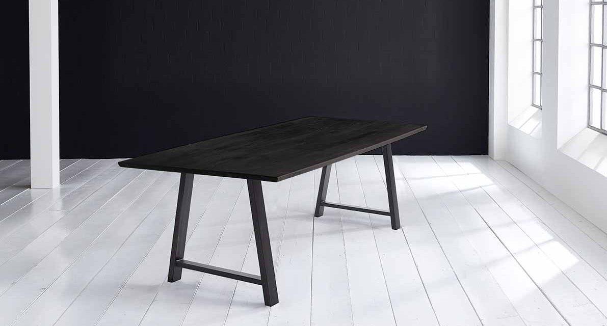 Concept 4 You Plankebord – Schweizerkant med Halo Ben, m. udtræk 3 cm 220 x 100 cm 07 = mocca black