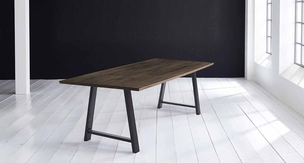 Concept 4 You Plankebord – Schweizerkant med Halo Ben, m. udtræk 3 cm 200 x 100 cm 02 = smoked