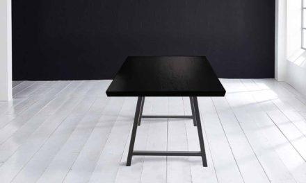 Concept 4 You Plankebord – Schweizerkant med Halo Ben, m. udtræk 6 cm 260 x 100 cm 07 = mocca black