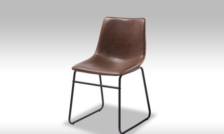 Indiana Spisebordsstol – Mørk Brun