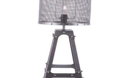 CANETT Octavio bordlampe – Antik grå
