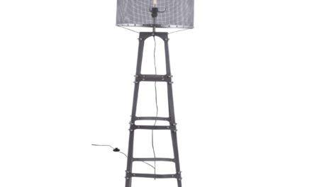 CANETT Octavio gulvlampe – Antik grå