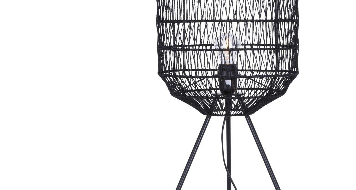 CANETT Octavio bordlampe – Sort