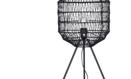 CANETT Octavio bordlampe – Sort
