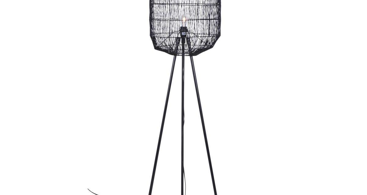 CANETT Octavio gulvlampe – Sort