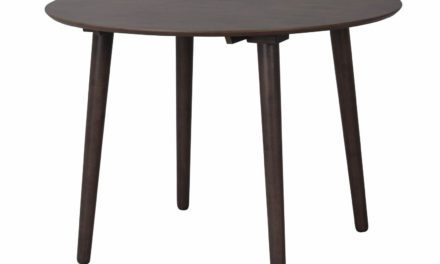 Lotta spisebord – brun, rund (Ø106)