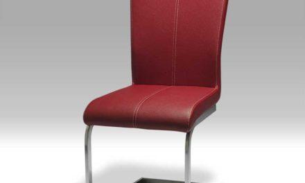Toulouse rød spisebordsstol