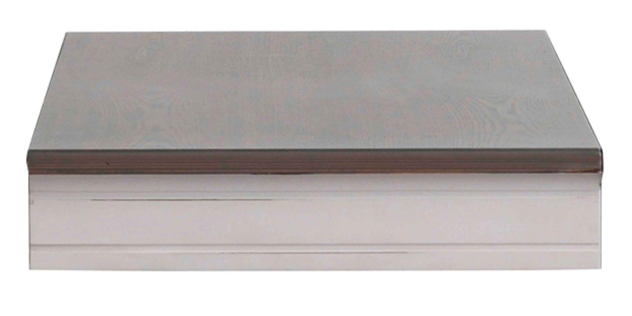 Viktoria tillægsplade – Grå, 45 cm tillæg