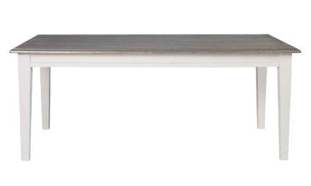 Viktoria spisebord – Grå bordplade, 190×95