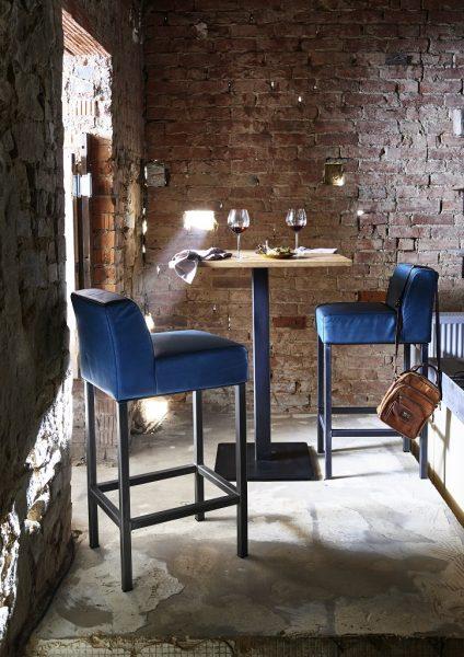 BODAHL Nizza bar/køkkenbord – 80×80 Barbord – 105 cm højde