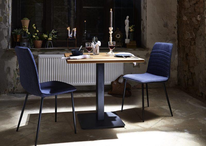 BODAHL Nizza bar/køkkenbord – 80×80 Køkkenbord – 76 cm højde
