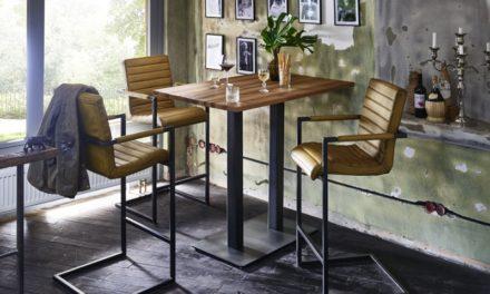 BODAHL Nizza bar/køkkenbord – 120×80 Barbord – 105 cm højde