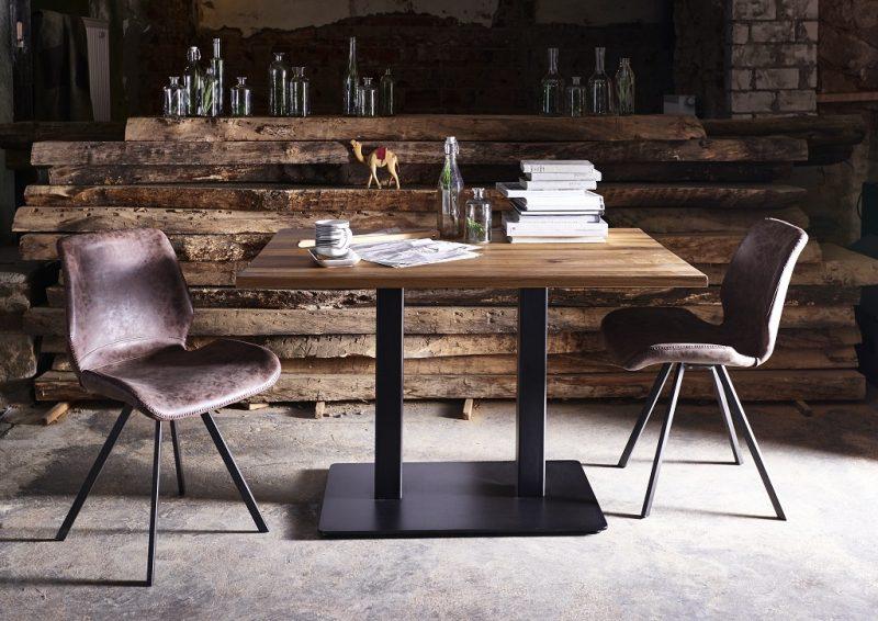 Træ Og Metal Nizza køkkenbord fra Bodahl til dit hjem