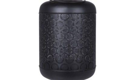 CANETT Magway lanterne – sort jern