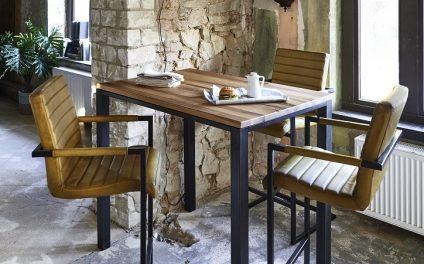 BODAHL Cannes bar/køkkenbord Barbord – 105 cm højde