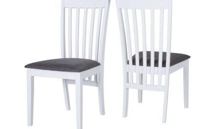 CANETT Penelope spisebordsstol – Hvid