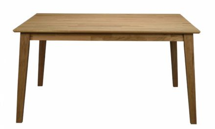 Filippa spisebord – Olieret eg, 145×145/190×145