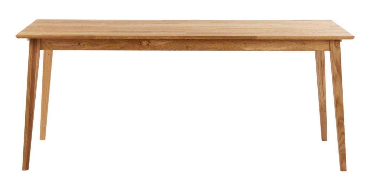 Filippa spisebord – Olieret eg, 180×90