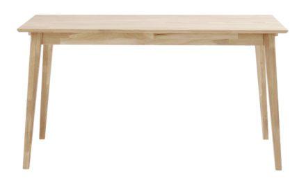 Filippa spisebord – Hvidpigmenteret eg, 140×90
