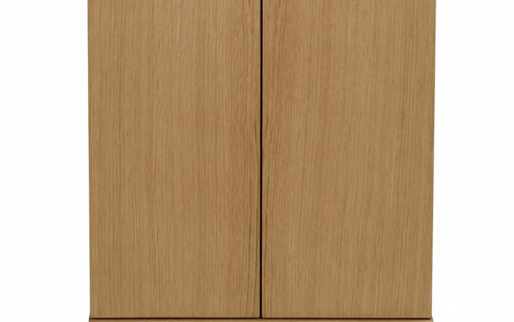 Filippa sengebord – Lakeret eg, 2 låger