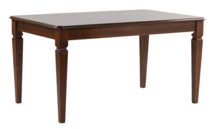 Amadeus spisebord – valnød m. udtræk (145×90)